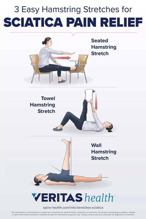 3 Easy Hamstring Stretches for Sciatica Pain Relie