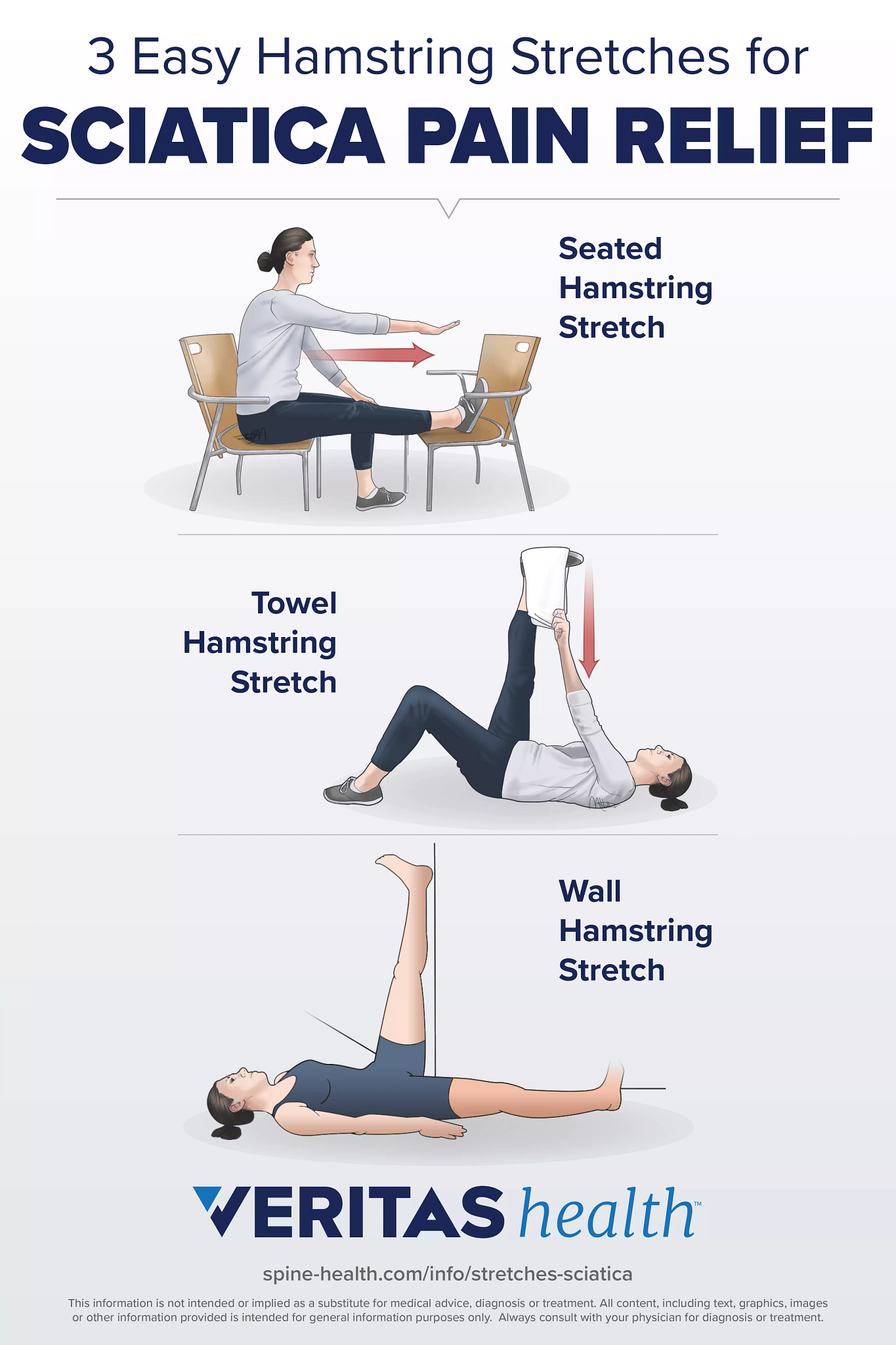3 Easy Hamstring Stretches for Sciatica Pain Relief
