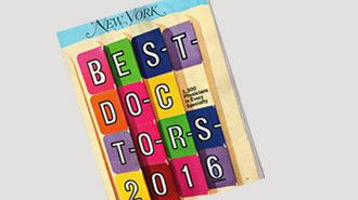 Best Doctors in New York: We have 8 of our Cornell team on this year's 2016 list.