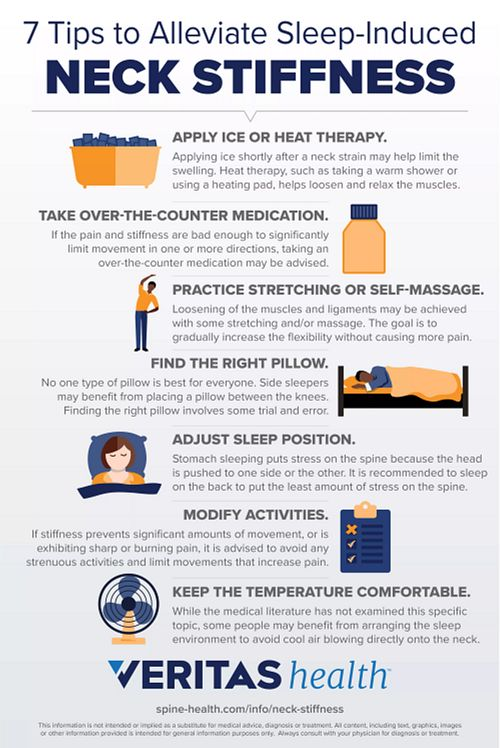 7 Tips to Alleviate Sleep-induced Neck Stiffness
