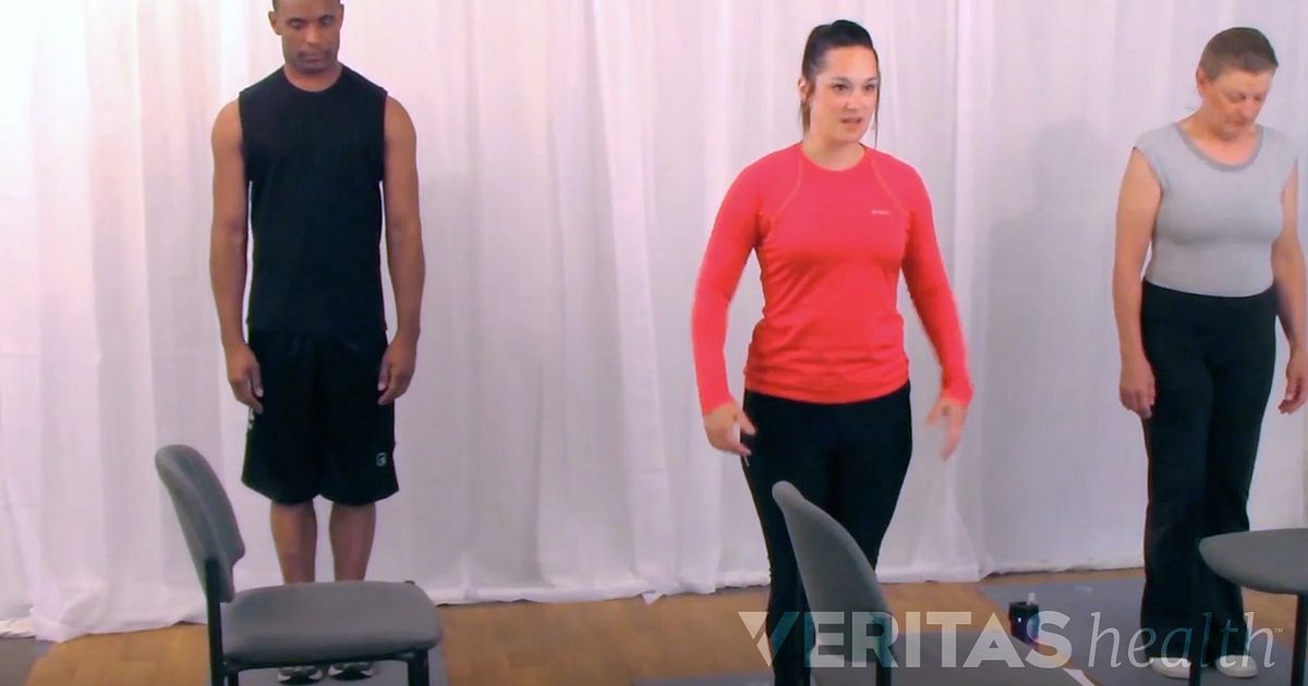 Advanced Standing Hamstring Stretch For Low Back Pain