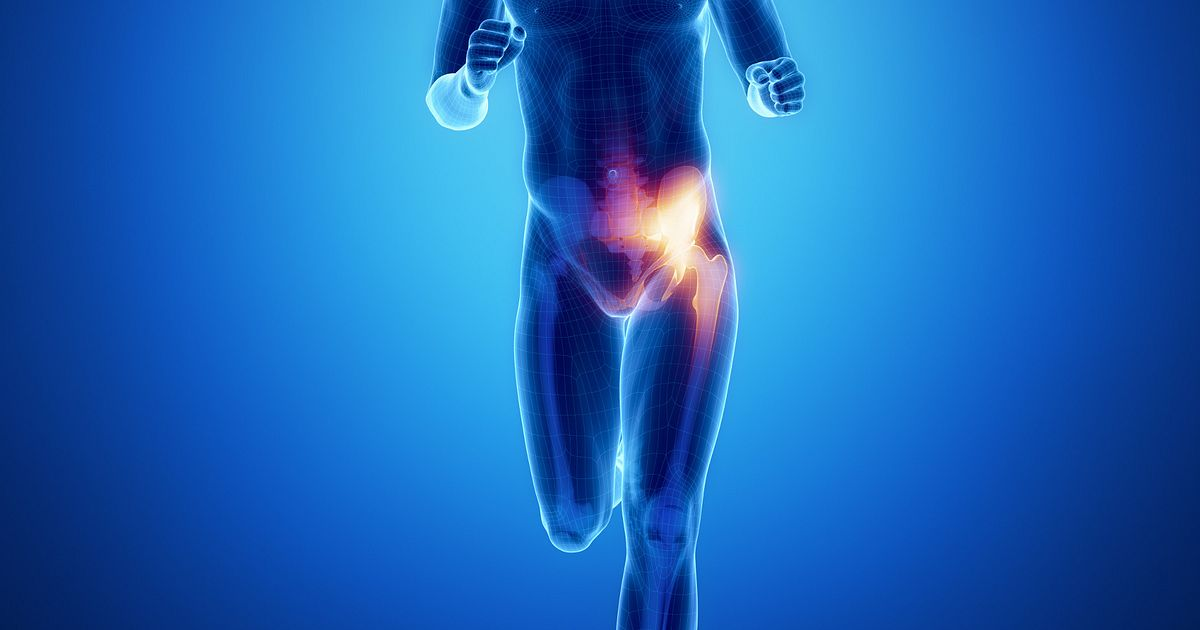Pain in hip and groin when running
