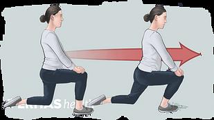 Kneeling Lunge Stretch