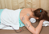 Portable TENS devices can be used at home or work to manage chronic pain.