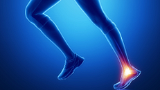 Common Running Injuries: Pain in the Ankle or Back of the Heel