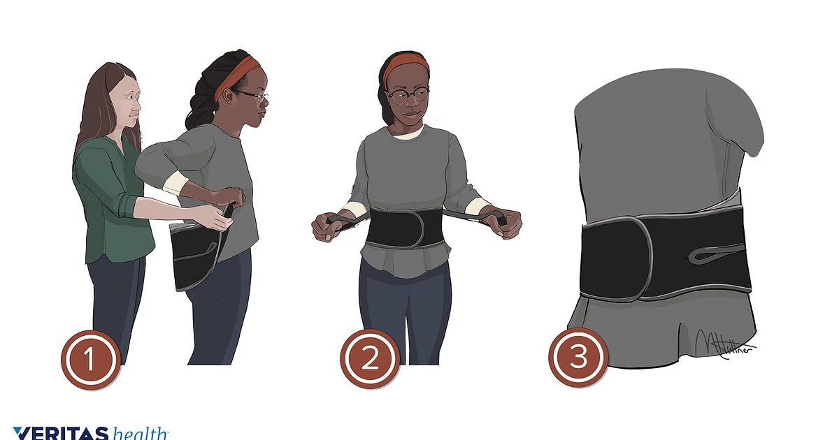 How To Use And Wear A Lower Back Brace