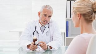 Consultation between doctor and patient