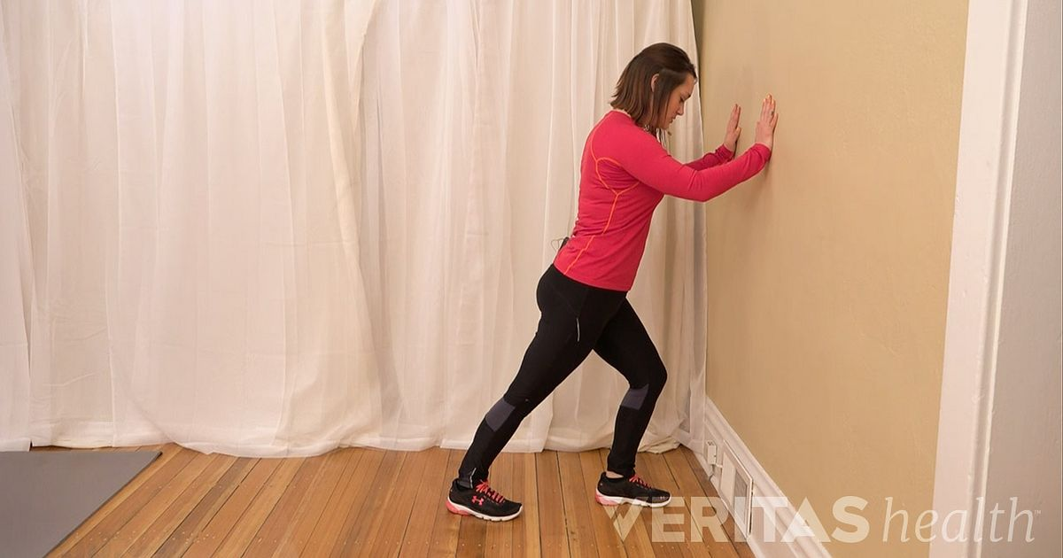 Video Standing Calf Muscle Stretch For Knee Arthritis