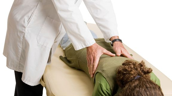 Chiropractic manipulation of the thoracic spine