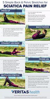 Stretches for sciatica pain