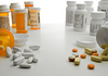 Image of prescription and non prescription pill bottles