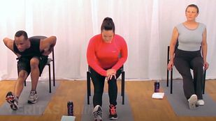 Seated Chair Hamstring Stretch Video