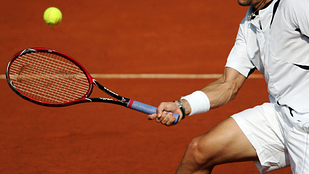 Image of a tennis player