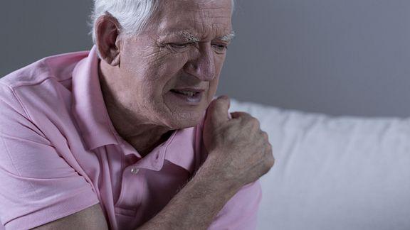 Man in Shoulder Pain