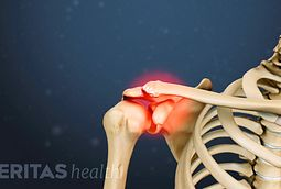 Pain in shoulder joint