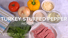 Anti-Inflammatory Recipe Video: Turkey and Quinoa Stuffed Peppers