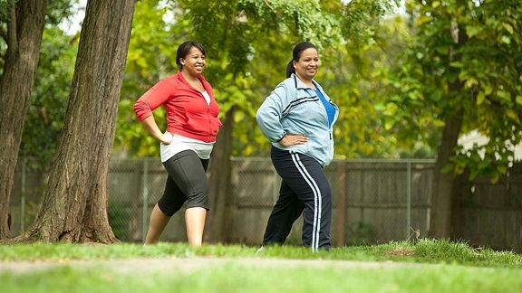 women exercising in the park