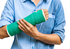 Image of arm in cast