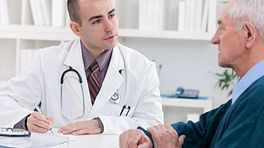 Doctor having a consultation with a patient