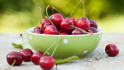 Bowlful of cherries