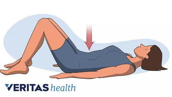 Pelvic tilt exercise for pregnancy pain pain relief