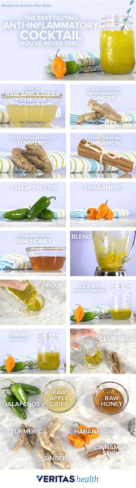 The Best Tasting Anti-Inflammatory Cocktail You've Never Tried