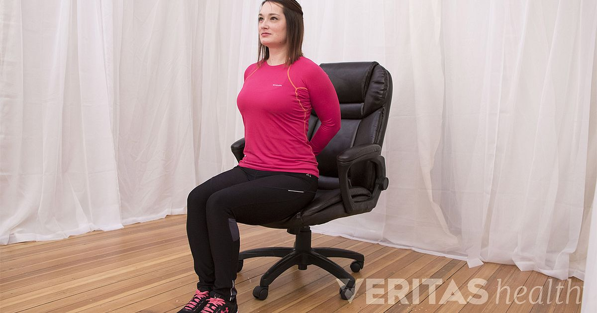 video reverse arch stretch office chair stretch