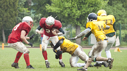 Image of a football play
