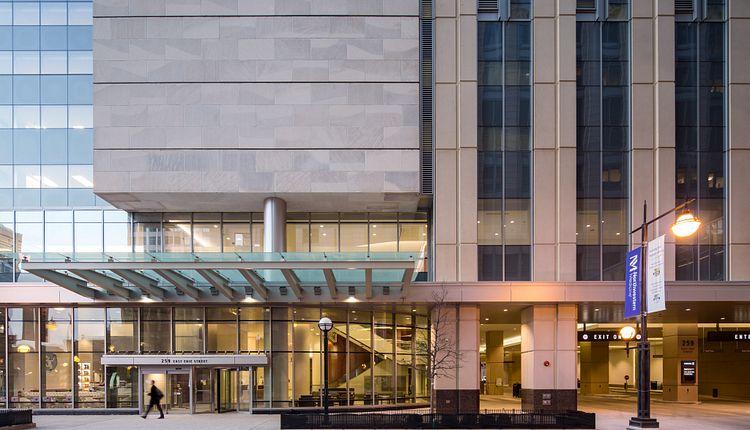 Northwestern Medicine Spine Center Exterior