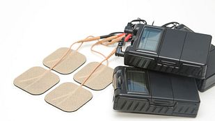 TENS unit on tabletop