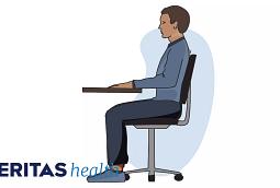 proper sitting posture
