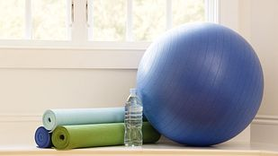 Equipment for an exercise ball program