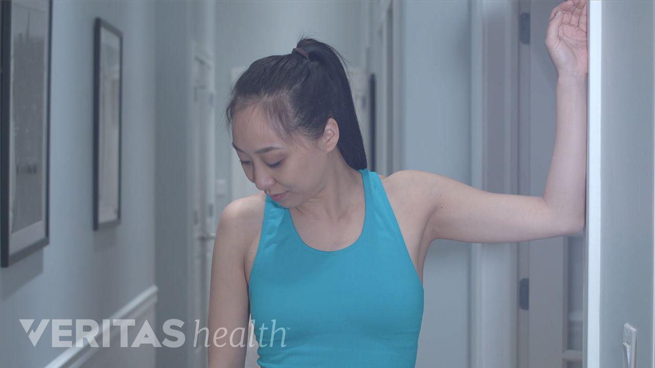 Levator Scapula Stretch