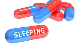 Sleep medication capsules