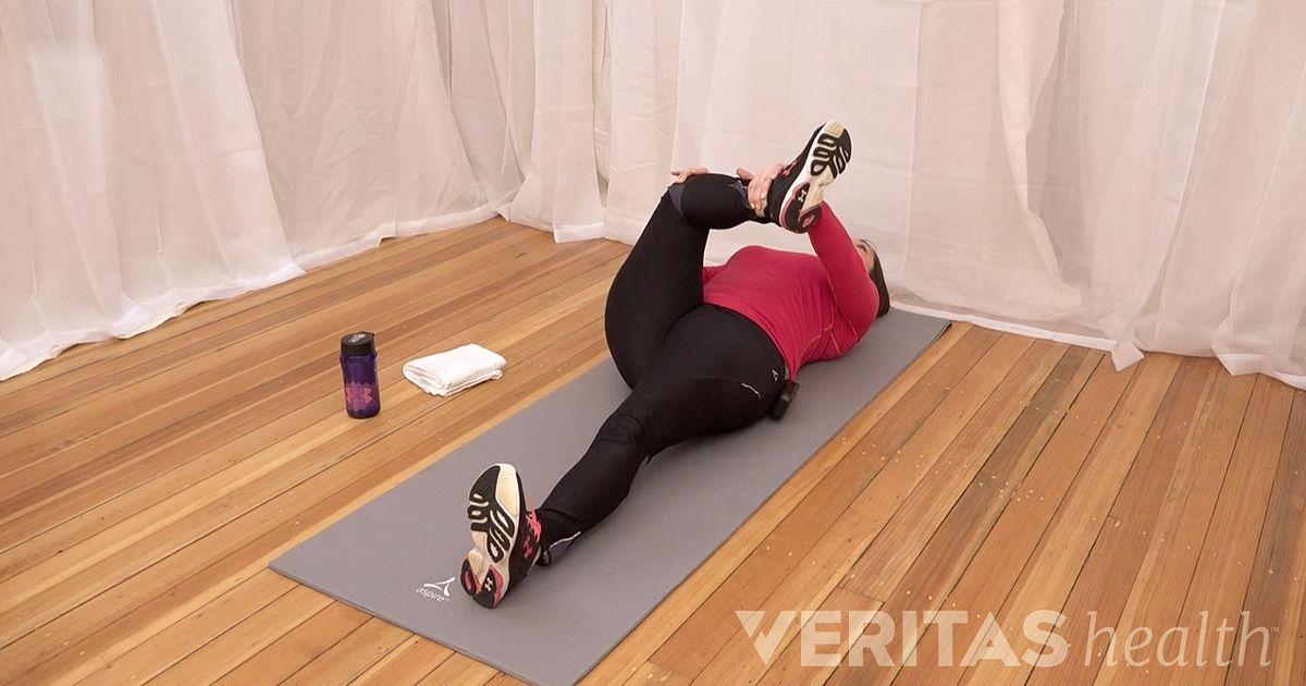 Video Supine Piriformis Muscle Stretch 1