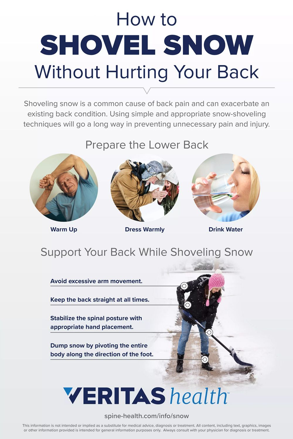 How to Shovel Snow Without Hurting Your Back