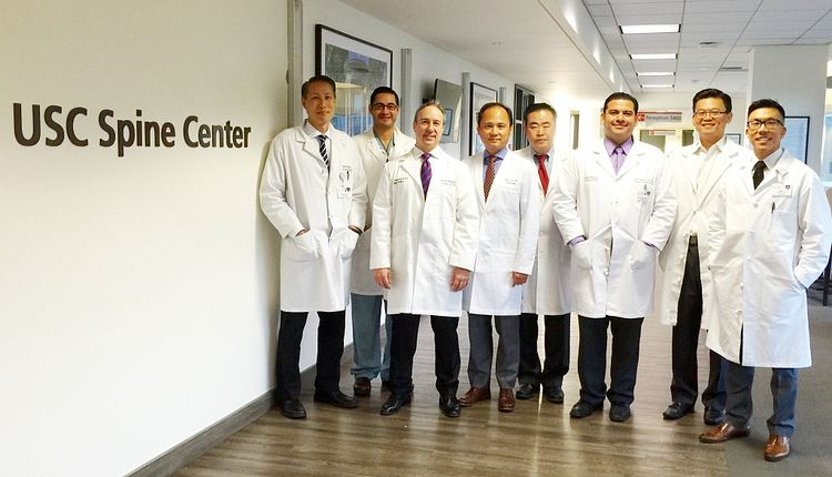Meet the multidisciplinary team of the USC Spine Center