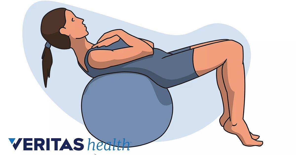 swiss ball exercises for back pain pdf