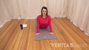 Video: Press-Up SI Joint Stretch for Sciatica
