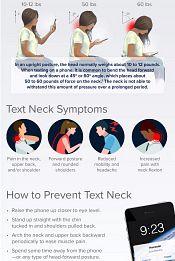 Text Neck Infographic