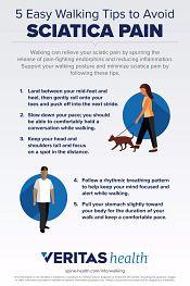 5 Easy Walking Tips to Avoid Sciatica Pain