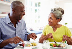 Eating healthy can help prevent a painful gout attack