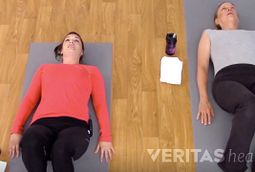 Supine Hamstring Stretch Video