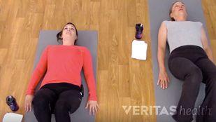 Supine Hamstring Stretch for Sciatica Relief Video