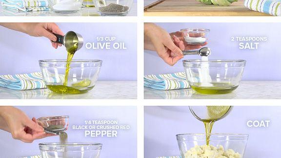 Salt & Pepper Cauliflower