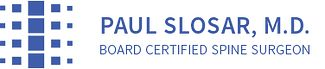 Dr. Paul J. Slosar, MD Logo