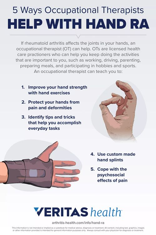 5 Ways Occupational Therapists Help with Hand RA