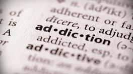 Word addiction in the dictionary