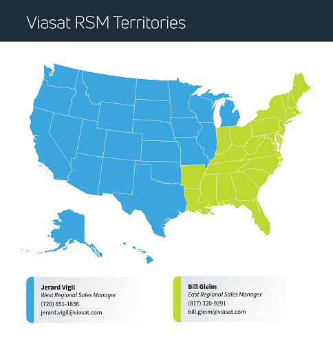 ViaSat-Sales-Manager-Territory-Map