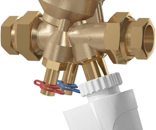 Válvula compacta de balanceo y control independiente de la presión TA Serie 7CP (COMPACT-P)